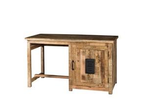 Tavolo in legno rettangolare Tavolo scrivania  indsutrial newport  in legno   Outlet etnico a prezzo scontato