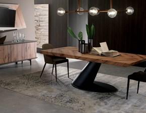 Tavolo in legno rettangolare Thor fisso Ozzio a prezzo ribassato