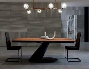 Tavolo in legno rettangolare Thor Ozzio in Offerta Outlet