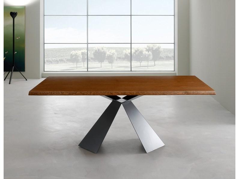 Tavolo in legno rettangolare Tokyo fisso180x100 di Eurosedia in ...