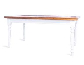 Tavolo in legno rettangolare Tornito Artigianale a prezzo scontato