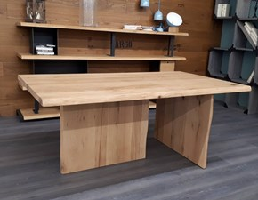 Tavolo in legno rettangolare Toronto Alta corte in Offerta Outlet