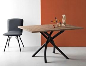 Tavolo in legno rettangolare Twister Connubia a prezzo ribassato