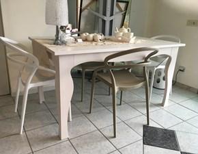 Tavolo in legno rettangolare Valplana Valplana in Offerta Outlet