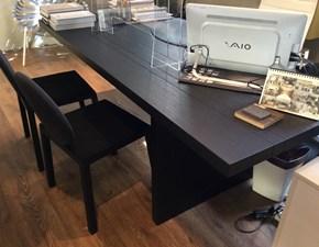 Tavolo in legno rettangolare Vertigo Lago in offerta outlet