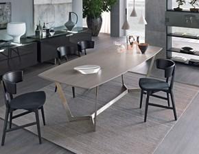 Tavolo in legno rettangolare Virgo Misuraemme in Offerta Outlet