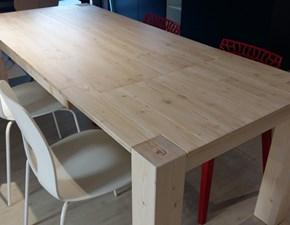 Tavolo in legno rettangolare Zanotto di Zanotto a prezzo ribassato