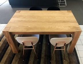 Tavolo in legno rettangolare Zero Artigianale a prezzo scontato