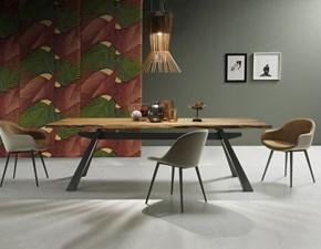 Tavolo in legno rettangolare Zeus Midj in offerta outlet