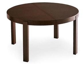 Tavolo in legno rotondo Atelier Connubia a prezzo scontato