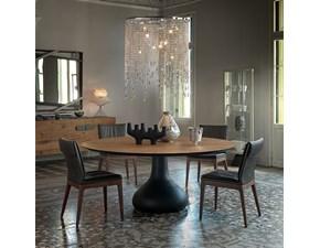 Tavolo in legno rotondo Bora bora Cattelan in Offerta Outlet