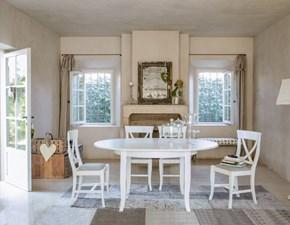 Tavolo in legno rotondo Crema Tonin casa a prezzo ribassato
