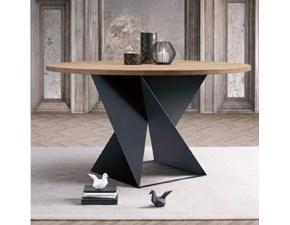 Tavolo in legno rotondo Cube Natisa a prezzo scontato