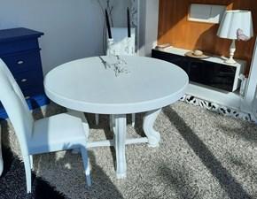 Tavolo in legno rotondo Eraclea Artigianale in offerta outlet