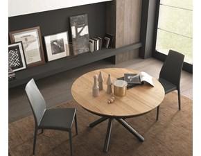 Tavolo in legno rotondo Fahrenheit round  Altacom a prezzo scontato
