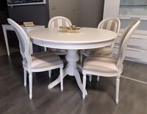 Tavolo in legno rotondo   Mirandola in offerta outlet
