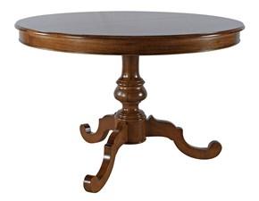 Tavolo in legno rotondo Mobilike ml657 Artigianale a prezzo scontato