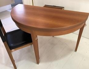 Tavolo in legno rotondo Piegante Halifax in Offerta Outlet
