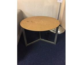 Tavolino rotondo in legno Joy by Tomasella a prezzo scontato