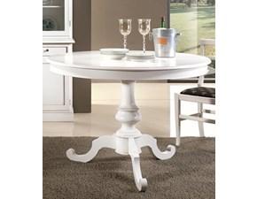 Tavolo in legno rotondo Tavolo rotondo shabby allungabile Lion's in offerta outlet