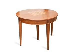 Tavolo in legno rotondo The Artigianale in offerta outlet