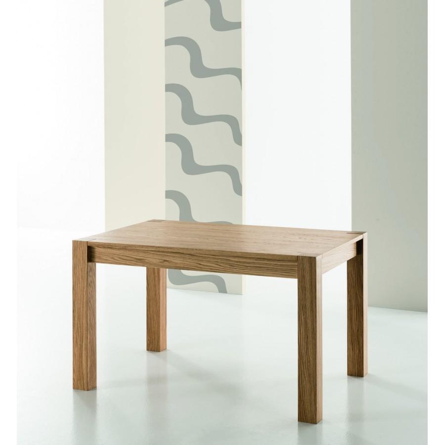 Tavolo in legno rovere spazzolato allungabile tavoli a for Tavolo allungabile rovere