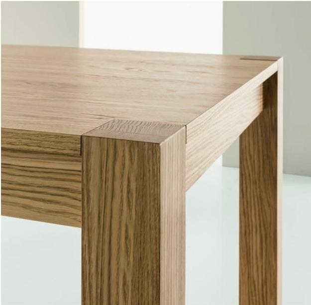Tavolo in legno rovere spazzolato allungabile tavoli a - Tavoli in legno prezzi ...