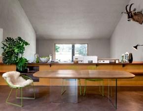 Tavolo in legno sagomato Cosmopolitan Devina nais in Offerta Outlet