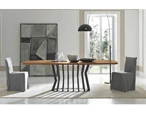 Tavolo in legno sagomato Glamour Fgf in offerta outlet