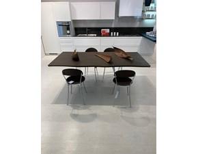 Tavolo in legno sagomato Glossy Max home in Offerta Outlet