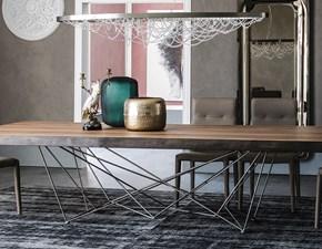 Tavolo in legno sagomato Gordon deep wood Cattelan italia a prezzo scontato