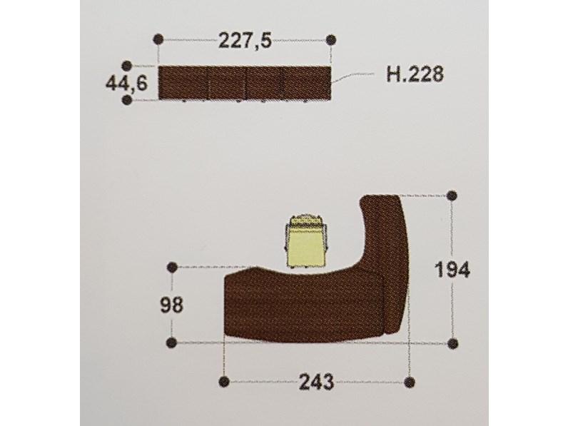 Tavolo in legno sagomato mobile ufficio direzionale kronos for Mobili ufficio outlet