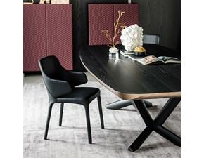 Tavolo in legno sagomato Planer wood Cattelan italia a prezzo ribassato