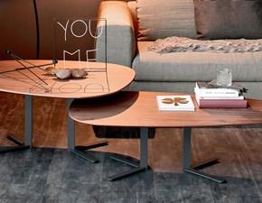 Tavolo in legno sagomato Samba Cattelan a prezzo ribassato