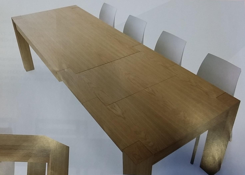 Tavolo rovere naturale spazzolato tavoli a prezzi scontati for Tavolo legno naturale