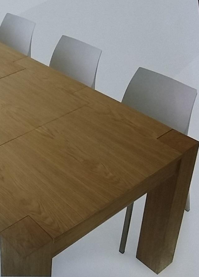 Tavolo rovere naturale spazzolato tavoli a prezzi scontati - Tavolo in rovere naturale ...