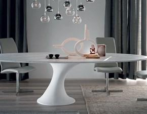 Tavolo in marmo ovale Reef Cattelan italia in offerta outlet