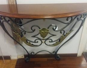 Tavolo in metallo ellittico Fleur Artigianale a prezzo scontato