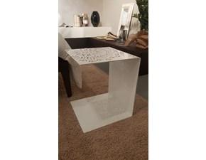 Tavolo in metallo quadrato Antonietta Pianca in offerta outlet