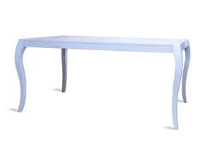 Tavolo in metallo rettangolare Boris Artigianale in offerta outlet