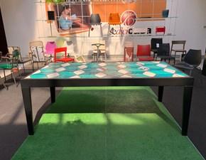 Tavolo in metallo rettangolare Easytable Artigianale a prezzo scontato