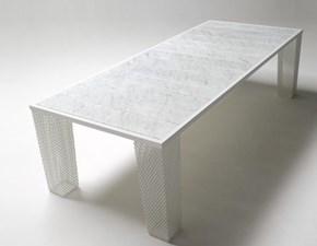 Tavolo in metallo rettangolare Ivy Emu a prezzo scontato