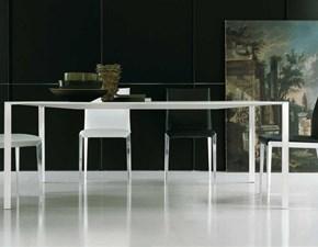 Tavolo in metallo rettangolare Less less Molteni & c in Offerta Outlet