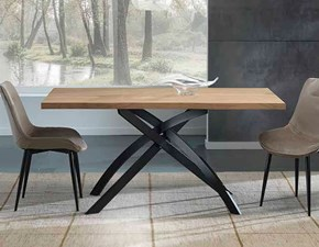 Tavolo in metallo rettangolare Modello i solisti Artigianale a prezzo ribassato