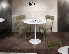 Tavolo in metallo rettangolare Tavolino bar 3 strutture con vari piani a scelta Md work a prezzo scontato