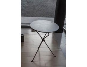 Tavolo in metallo rotondo Cumano  Zanotta in Offerta Outlet