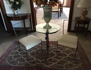 Tavolo in metallo rotondo Tavolino con sedie Ciacci a prezzo ribassato