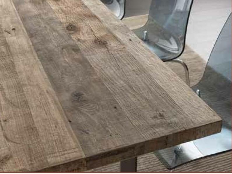 Tavolo in rovere trattato con cera naturale scontato for Cera arredamenti
