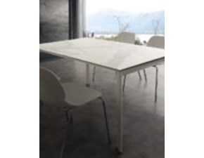 Tavolo in pietra rettangolare ceramique di La seggiola a prezzo scontato