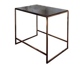 Tavolo in pietra rettangolare Design Sigerico in offerta outlet